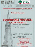 I quotidiani modenesi a confronto