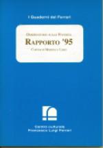 1996/4 - Osservatorio sulle povertà. Rapporto '95. Caritas di Modena e Carpi