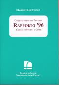 1997/5 - Osservatorio sulle Povertà. Rapporto '96. Caritas di Modena e Carpi