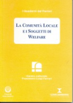1997/8 - La Comunità Locale e i Soggetti di Welfare