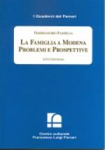 2000/14 - Osservatorio Famiglia. La Famiglia a Modena Problemi e Prospettive