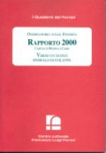 2001/15 - Osservatorio sulle Povertà. Rapporto 2000. Caritas di Modena e Carpi