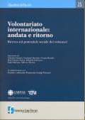 2006/25 - Volontariato internazionale: andata e ritorno