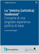 2009/30 - La sinistra (cattolica) modenese